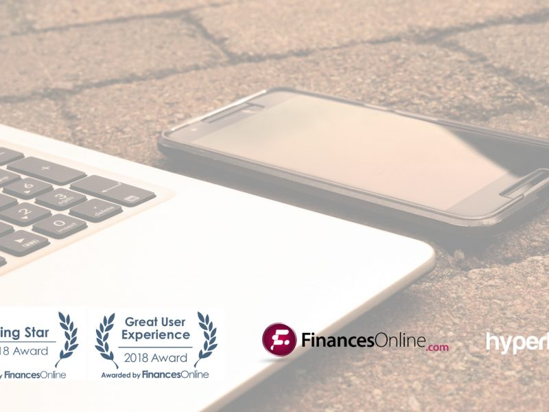 Just recently, top time tracking software Hyperlogs received two prestigious awards from FinancesOnline